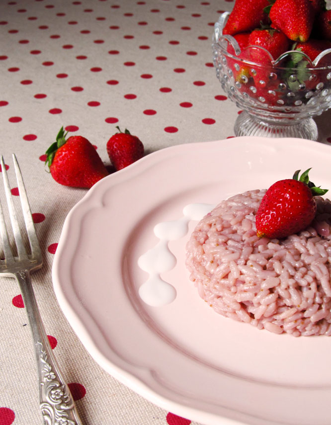 riso fragole