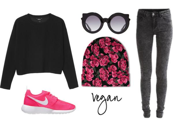 vegan outfit #1