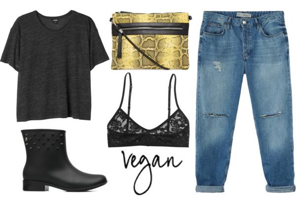 vegan outfit #4